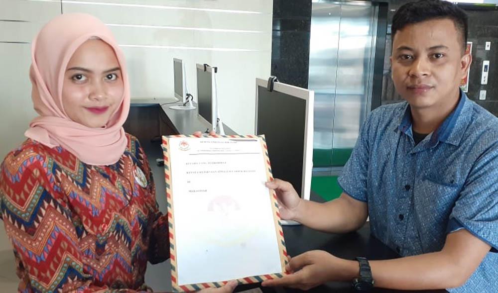 DPW BAIN HAM RI Sulsel Laporkan Bupati Bulukumba Ke Kejati Sulsel