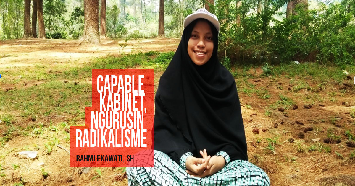 Capable Kabinet, Ngurusin Radikalisme